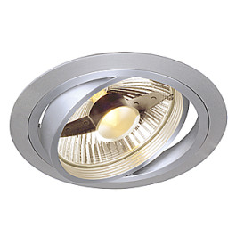 New Tria I ES111 downlight, round, alu brushed