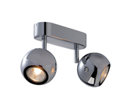 Brushed Metal and Chrome Lights