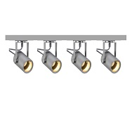 Silver Grey Track Lighting Kits