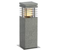 Grey and Stone Grey Bollard Lights