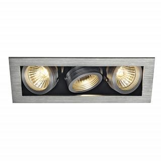 SLV 115536 KADUX 3 GU10 Downlight Adjustable Alu Brushed