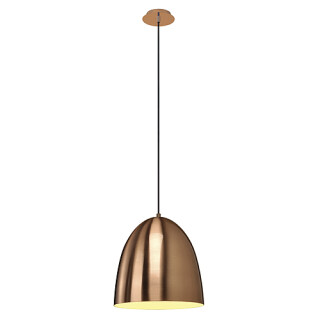 SLV 133019 CONE 30 pendant luminaire E27 copper brushed 60W