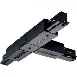 SLV 145630 EUTRAC T-Connector . Left Black