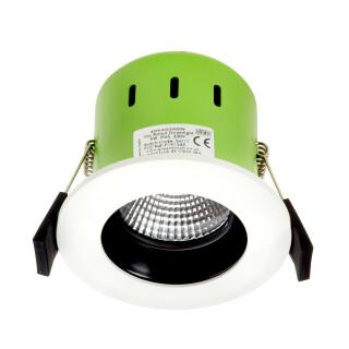 Greenbrook ADVAG3000W 9W IP65 Anti Glare White LED Fire Rated Warm White
