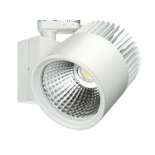 Concentra Multi Circuit LED Track Spot White up to 6000lm output available