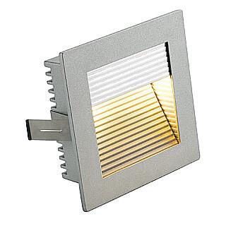 SLV 112772 Flat Frame Curve, Aluminium, cut out 78mm x 78mm, depth 52mm