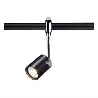 SLV 185450 Bima I Black spotlight for Easytec II Chrome and Black, Dimmable, Requires GU10 LED