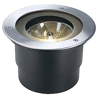 SLV 227090 Adjust Ground Recessed spot with Round high grade steel cover