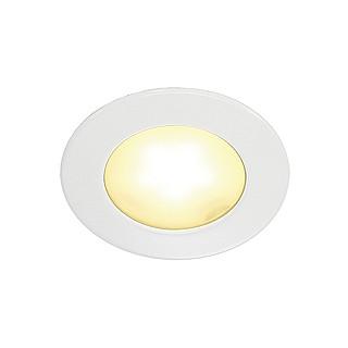 SLV 112221 DL 126 LED White 3W Warm White, cut out 57mm, depth 14mm