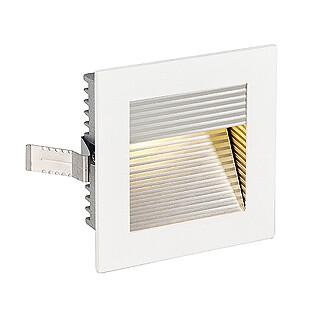SLV 112771 Flat Frame Curve, White, cut out 78mm x 78mm, depth 52mm