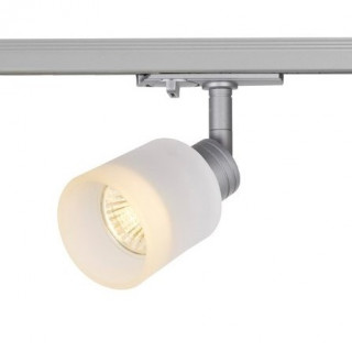 SLV 1001870 Puri Glass Spot Light Silver Dimmable, requires GU10 LED