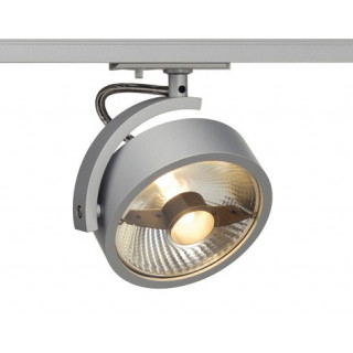 SLV 143544 KALU Spot Light Silver Grey Dimmable, requires ES111