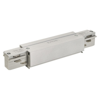 SLV 145664 EUTRAC Connector with Feed in possibility Silver Grey