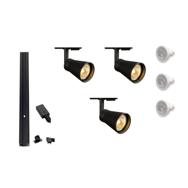 mls 800101 track lighting kits modern lighting solutions