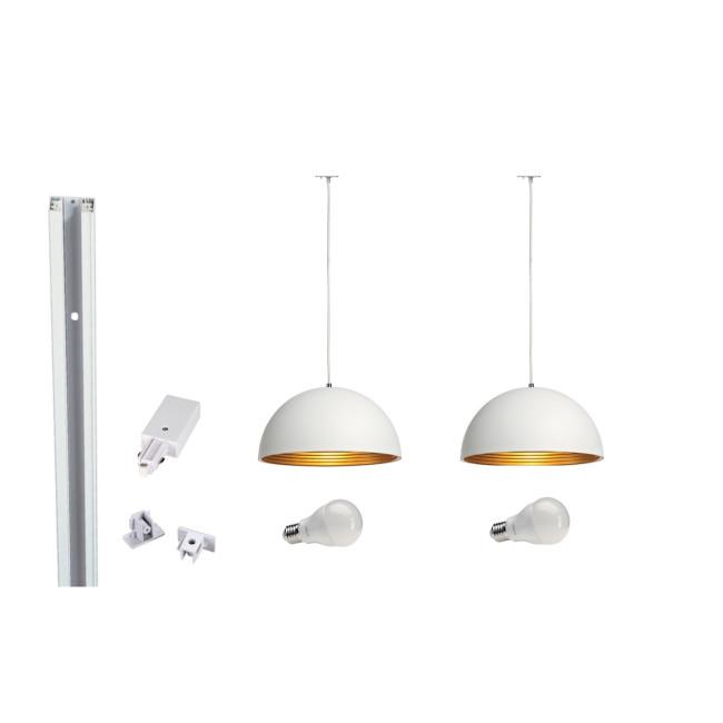 track lighting solutions. MLS 800018 Forchini X 2 Track Kit White Lighting Solutions