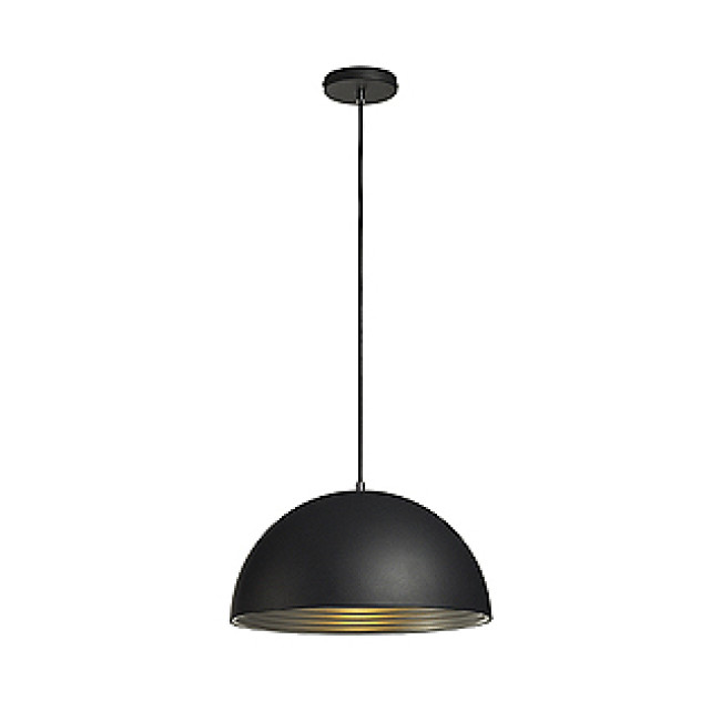 Black Round Pendant Lighting : Slv ceiling lighting pendulum modern