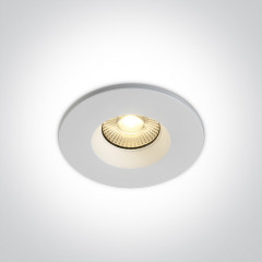 7W Fire Rated Dimmable Downlight IP65 Switchable White