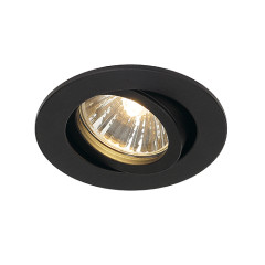 SLV 1001980 New Tria 68 GU10 Adjustable Downlight Matt Black