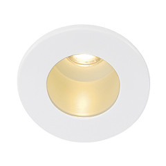 SLV 113671 HORN MINI LED Downlight Round White LED 3000K
