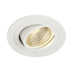 SLV 113871 New Tria LED Adj Round Set Matt White 6.2W 2700K incl.driver