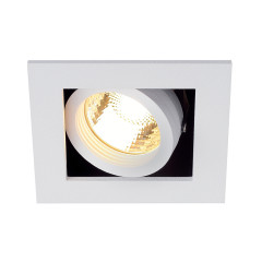 MLS 115511FR Kadux 1 Fire Rated GU10 Square White