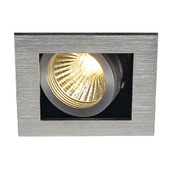 SLV 115516 KADUX 1 GU10 Downlight Adjustable Alu Brushed