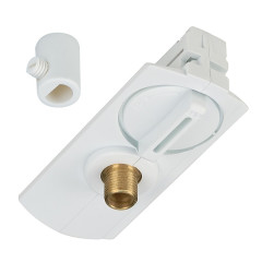 SLV 143121 track Pendant Adapter White