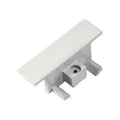 SLV 143281 End caps for Recessed mains voltage track White