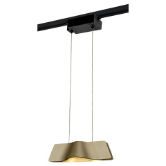 SLV 144003 brass 9W LED 3000K