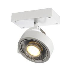SLV 147301 KALU 1 QPAR ceiling luminaire Matt White ES111 75W