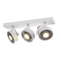 SLV 147321 KALU 3 QPAR ceiling luminaire Matt White ES111 3x75W