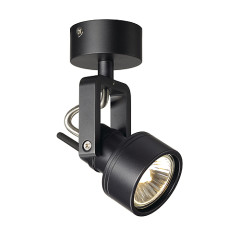 SLV 147550 INDA SPOT GU10 wall and ceiling luminaire Black