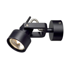 SLV 147550W INDA SPOT GU10 wall and ceiling luminaire Black 50W