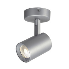 SLV 148504 Single 7W COB LED 3000K Silver Grey incl. driver