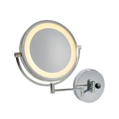 SLV 149782 makeup mirror Chrome/glass SMD LED 3000K