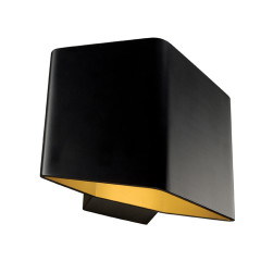 SLV 151700 Black/brass 7.6W COB LED 3000K
