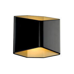 SLV 151710 Black/brass 7.6W COB LED 3000K