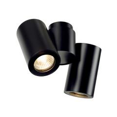 SLV 151830 Double Black 2 x GU10 2 x 50W