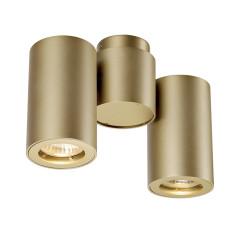 SLV 151833 Double brass 2 x GU10 2 x 50W