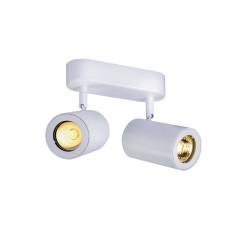 SLV 152021 Double White 2 x GU10 2 x 50W