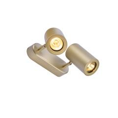 SLV 152023 Double brass 2 x GU10 2 x 50W