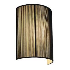 SLV 155340 LASSON wall lamp WL-3 Black E27