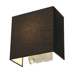 SLV 155670 ACCANTO LEDspot wall lamp Black E27 LED Warm White