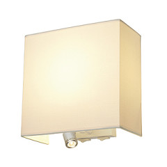 SLV 155673 ACCANTO LEDspot wall lamp beige E27 LED Warm White