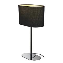 SLV 155840 SOPRANA OVAL table luminaire TL-1 Blackes textile E27