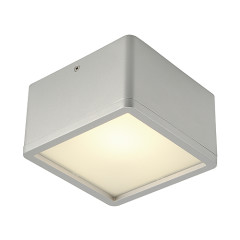 SLV 162644 SKALUX ceiling luminaire CL-1 Square Silver Grey 3000K