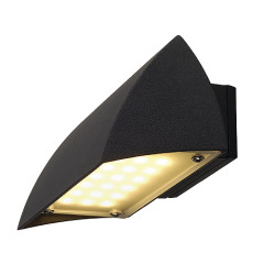 SLV 227050 NOVA LED WALL OUT wall luminaire Black 4.2W 3000K IP44