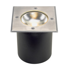 SLV 227604 Square stainless steel 316 6W COB LED 3000K incl. driver
