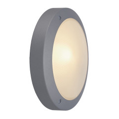SLV 229072W Bulan ceiling lamp E14 Silver Grey