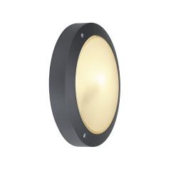SLV 229075 BULAN ceiling luminaire Round anthracite E14